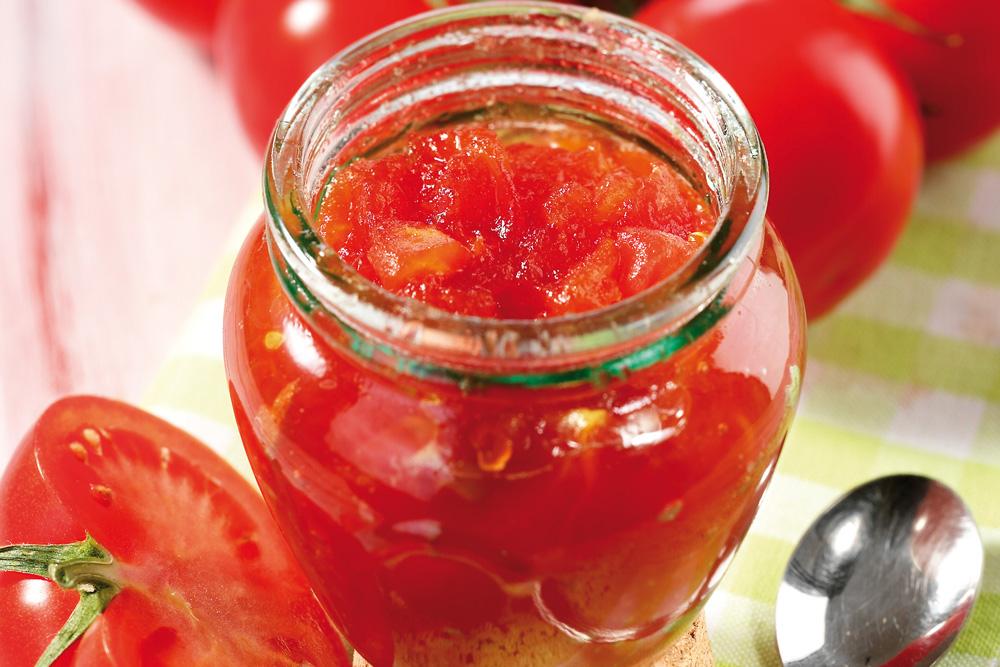 Confettura di pomodori