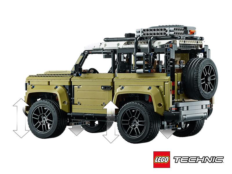LAND ROVER DEFENDER LEGO TECHNIC