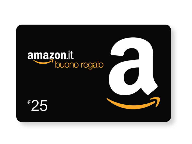 BUONO REGALO AMAZON.IT DA 25 €