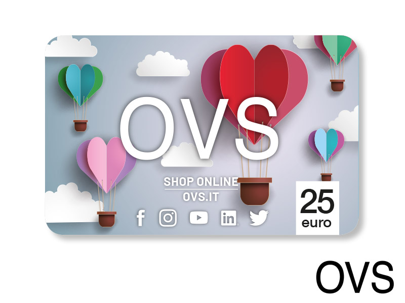 CARTA REGALO OVS DA 25 €