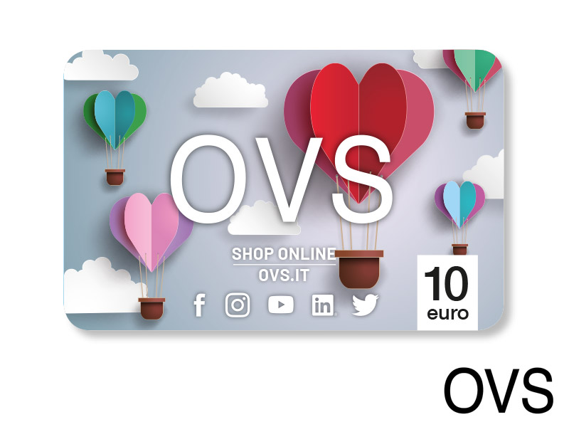 CARTA REGALO OVS DA 10 €