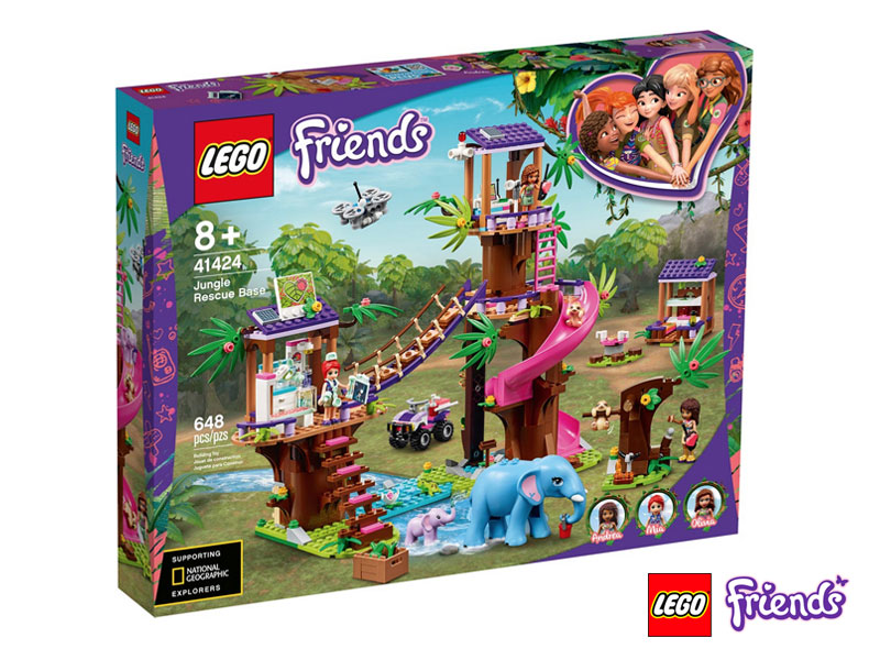BASE DI SOCCORSO TROPICALE LEGO FRIENDS