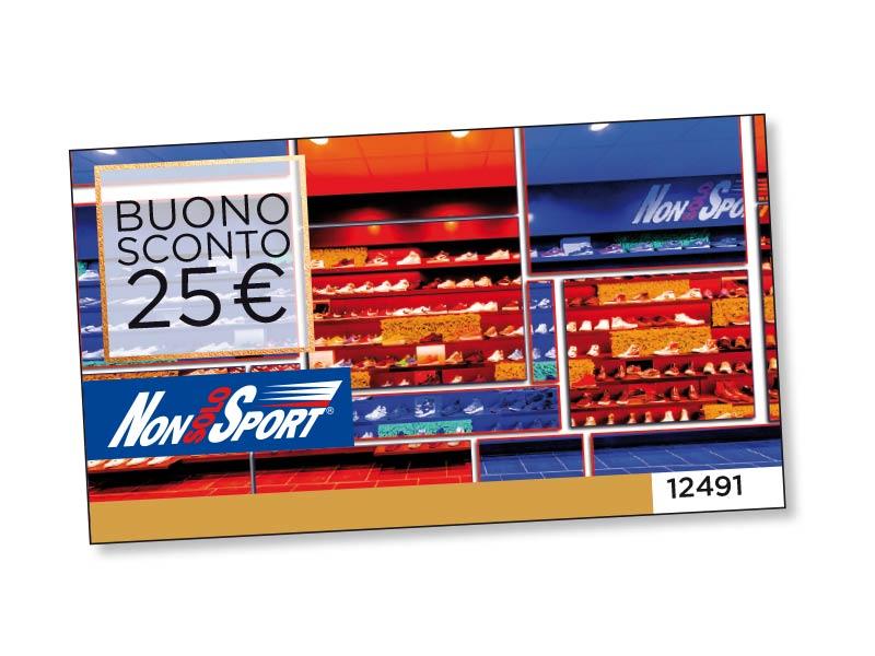 BUONO SCONTO NON SOLO SPORT DA 25 €