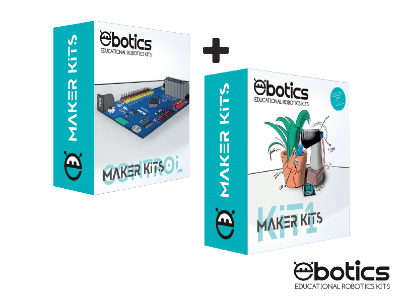 6 KIT DI COMPONENTI ELETTRONICI EBOTICS