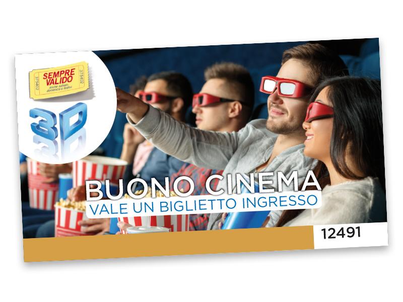 INGRESSO AL CINEMA 3D