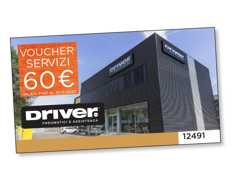VOUCHER SERVIZI DRIVER DA 60 €