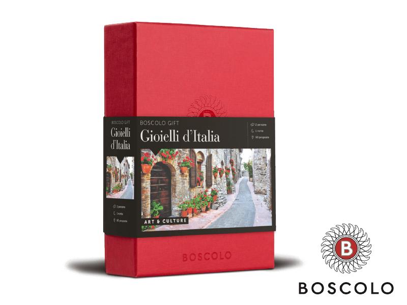COFANETTO GIOIELLI D'ITALIA BOSCOLO
