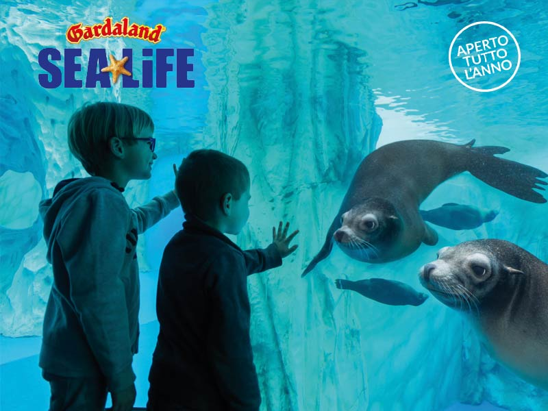 INGRESSO GARDALAND SEA LIFE AQUARIUM