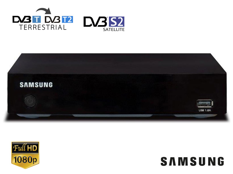 DECODER DIGITALE TERRESTRE DVB-T2 SAMSUNG