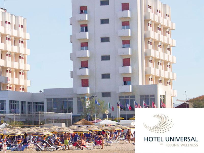 HOTEL UNIVERSAL di SENIGALLIA (AN) - 3 GIORNI 2 NOTTI