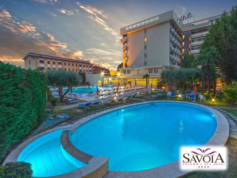HOTEL SAVOIA THERMAE & SPA di ABANO TERME (PD) - 3 GIORNI 2 NOTTI