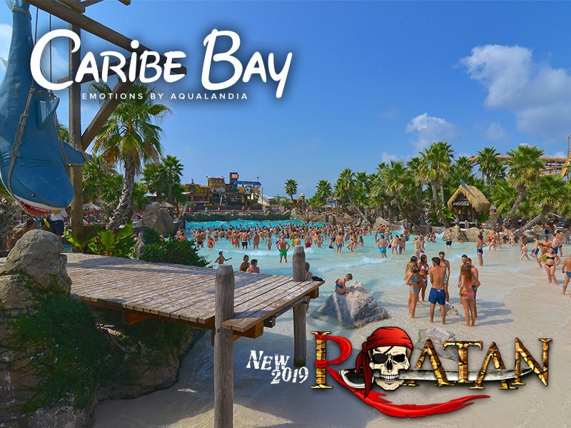 INGRESSO CARIBE BAY - EMOTIONS BY AQUALANDIA