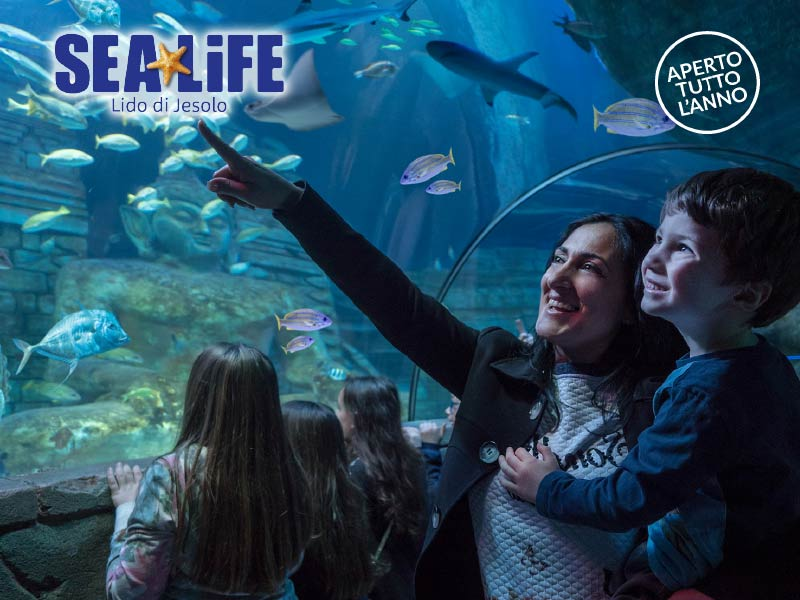 INGRESSO SEA LIFE AQUARIUM JESOLO