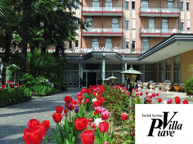 HOTEL TERME VILLA PIAVE di ABANO TERME (PD) - 3 GIORNI 2 NOTTI