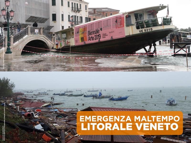 RACCOLTA FONDI MALTEMPO LITORALE VENETO