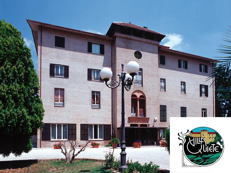 HOTEL VILLA QUIETE di MONTECASSIANO (MC) - 3 GIORNI 2 NOTTI