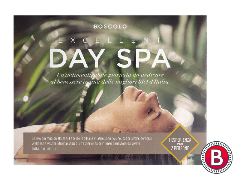 VOUCHER EXCELLENT DAY SPA BOSCOLO