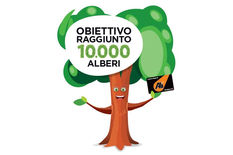 Dona un albero all'ambiente