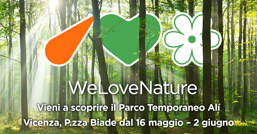 We Love Nature parco temporaneo